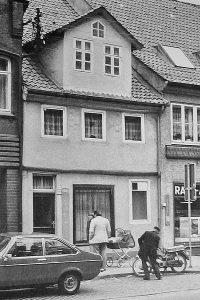Bild: Optik Rohr Geschäftsfassade 1970