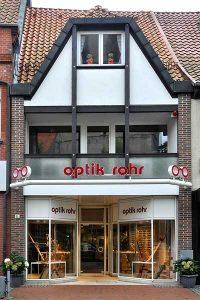 Bild: Optik Rohr Geschäftsfassade 1987